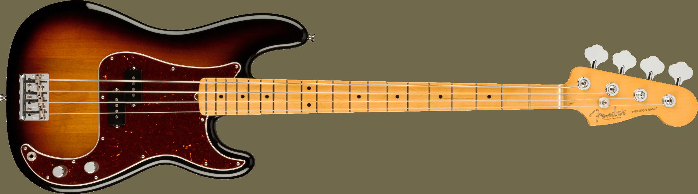 FENDER-American-Professional-II-Precision-Bass-Maple-Fingerboard-3-Color-Sunburst-sku-571005203