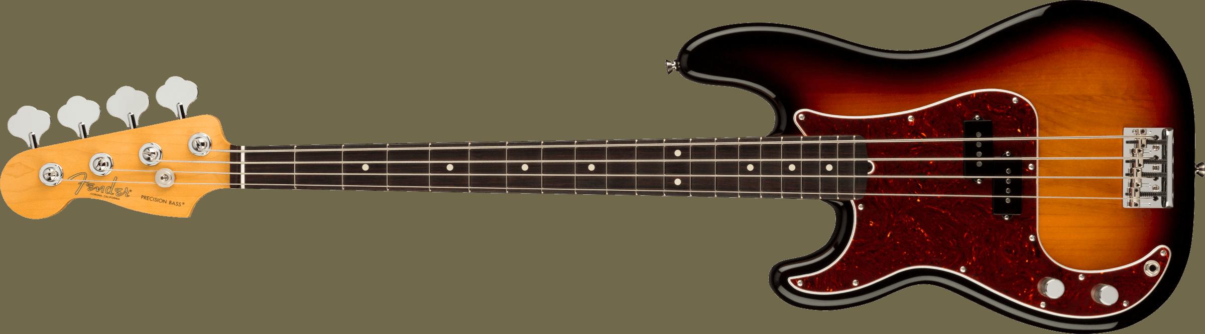 FENDER-American-Professional-II-Precision-Bass-Left-Hand-Rosewood-Fingerboard-3-Color-Sunburst-sku-571005279