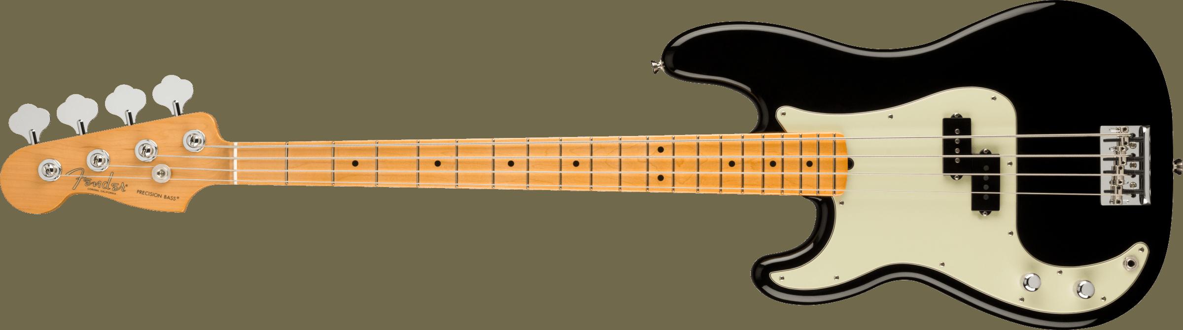 FENDER-American-Professional-II-Precision-Bass-Left-Hand-Maple-Fingerboard-Black-sku-571005261