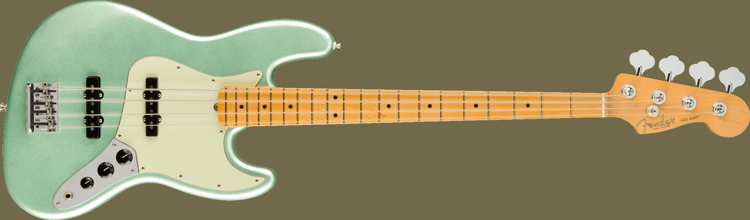 FENDER-American-Professional-II-Jazz-Bass-Maple-Fingerboard-Mystic-Surf-Green-sku-571005480