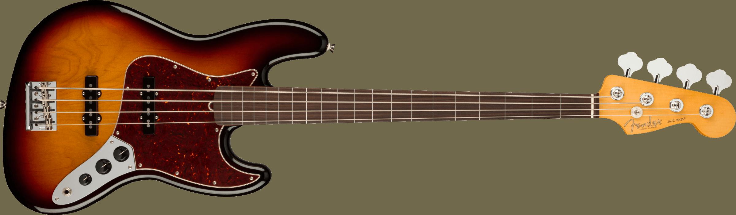 FENDER-American-Professional-II-Jazz-Bass-Fretless-Rosewood-Fingerboard-3-Color-Sunburst-sku-571005255