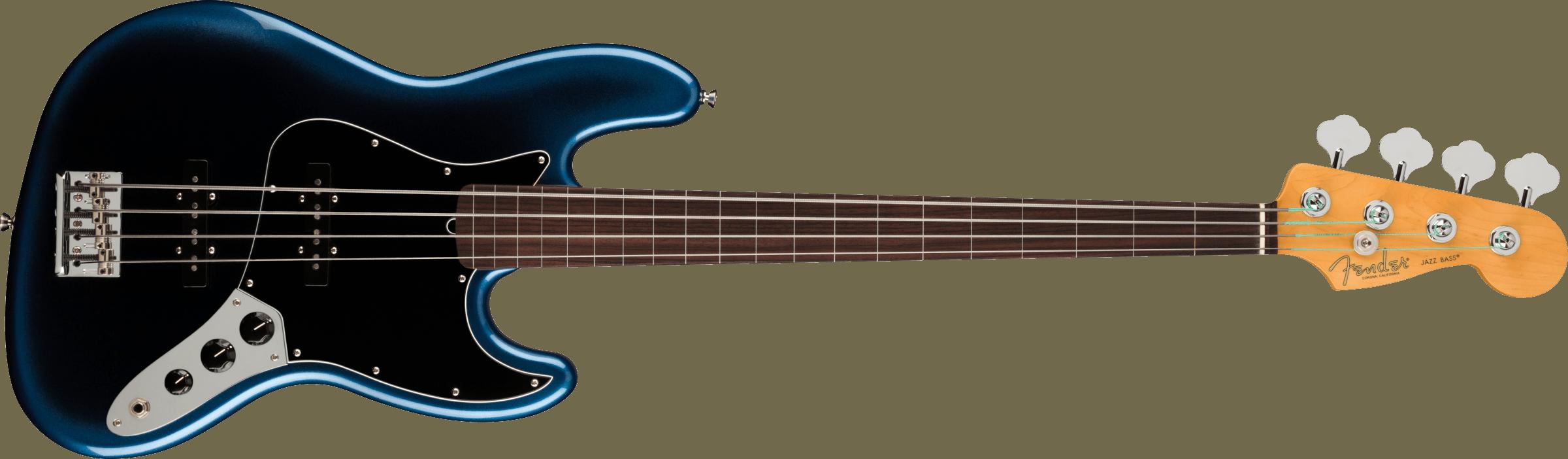 FENDER-American-Professional-II-Jazz-Bass-Fretless-Rosewood-Fingerboard-Dark-Night-sku-571005254