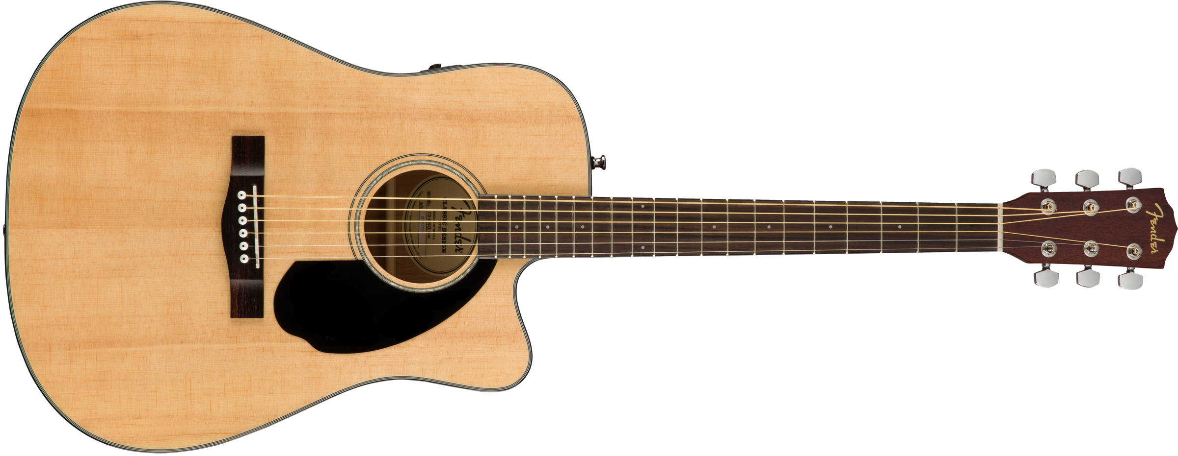 This is an image of the Fender CD-60SCE, Natural