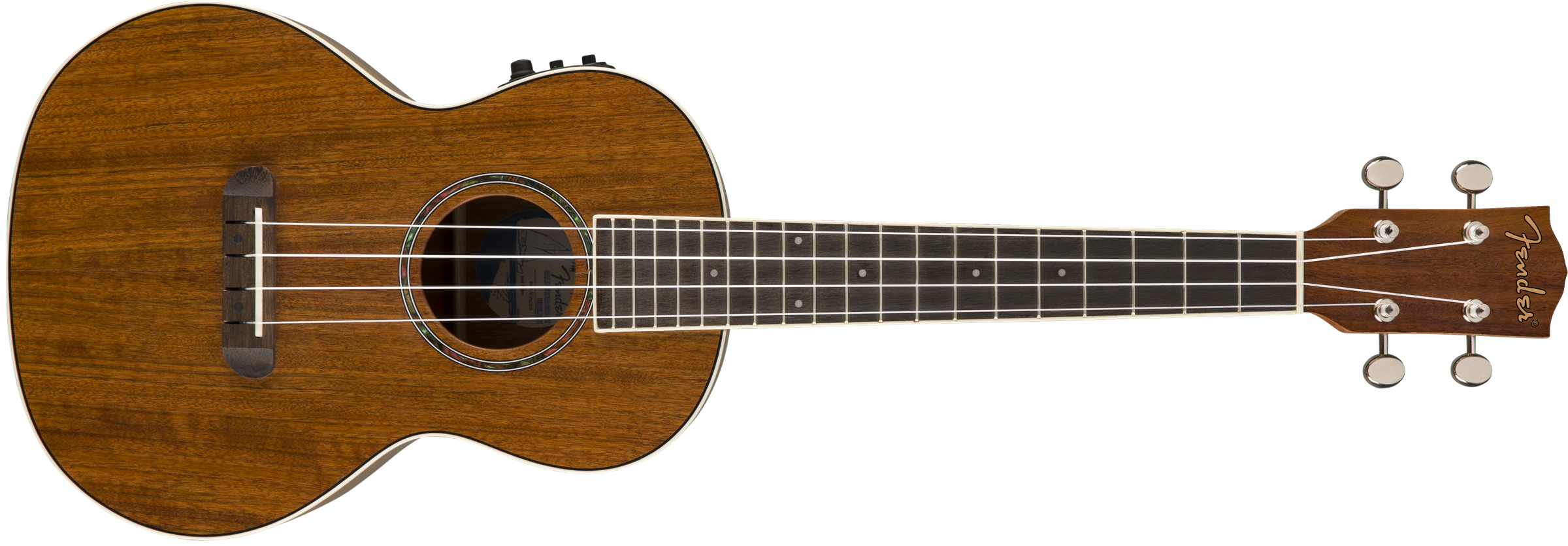 This is an image of the Fender Rincon Tenor Uke, Natural