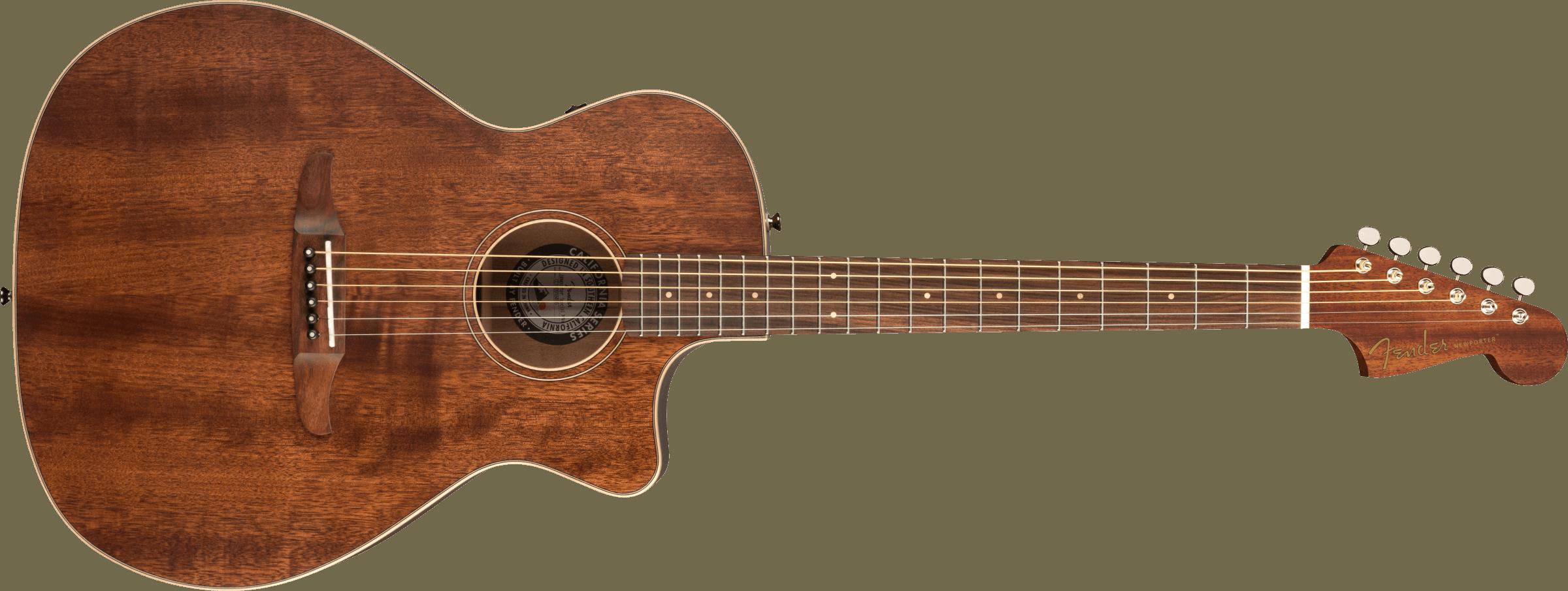 FENDER-Newporter-Special-with-Gig-Bag-All-Mahogany-Pau-Ferro-Fingerboard-Natural-sku-571004885
