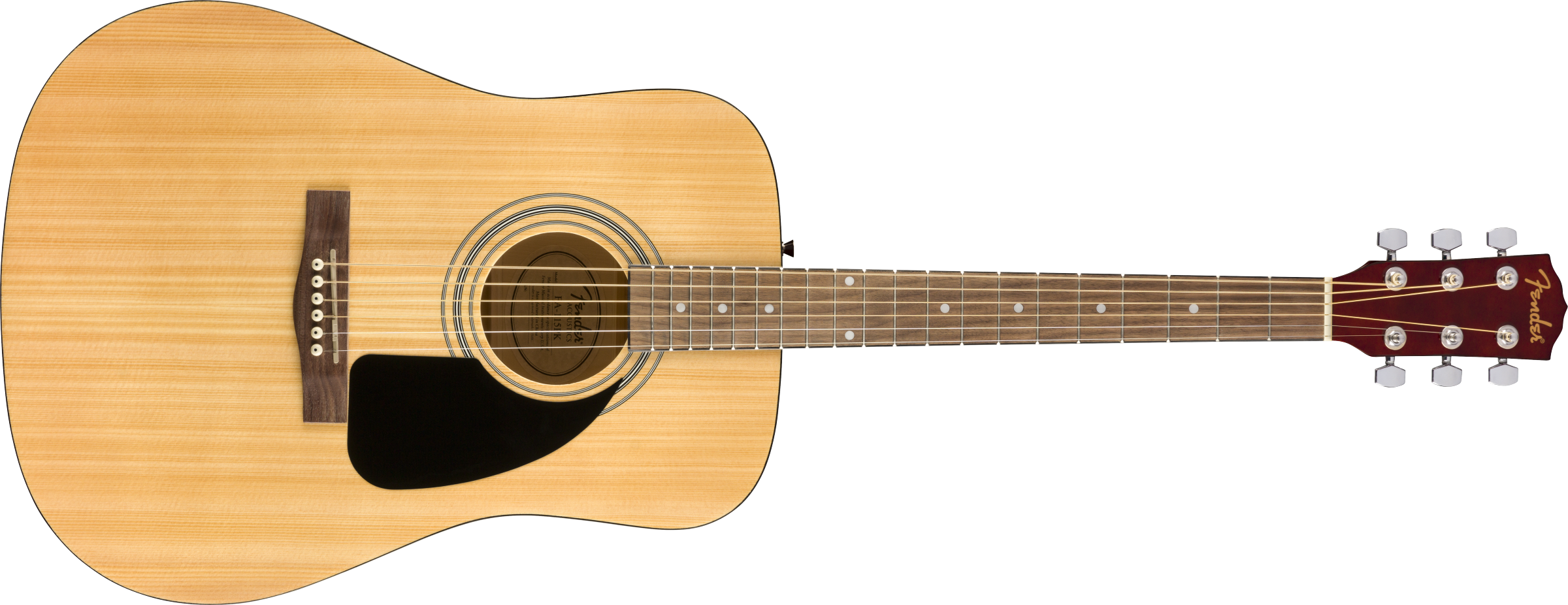Image of the Fender FA-115 Dreadnought Pack, Natural, Walnut Fingerboard