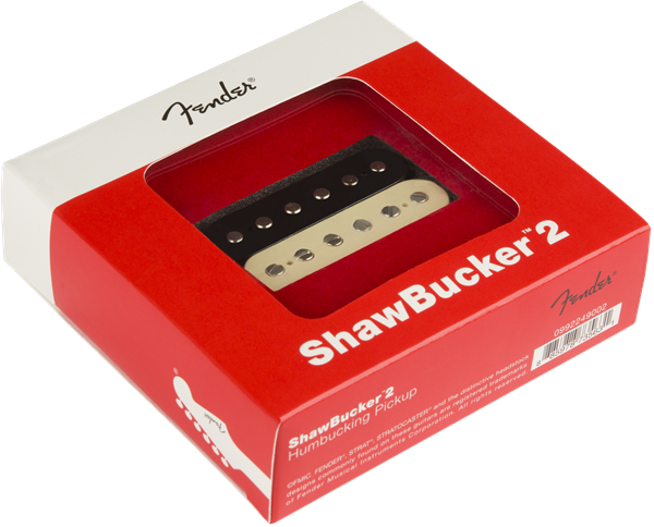 FENDER ShawBucker 2 Pickup, Zebra