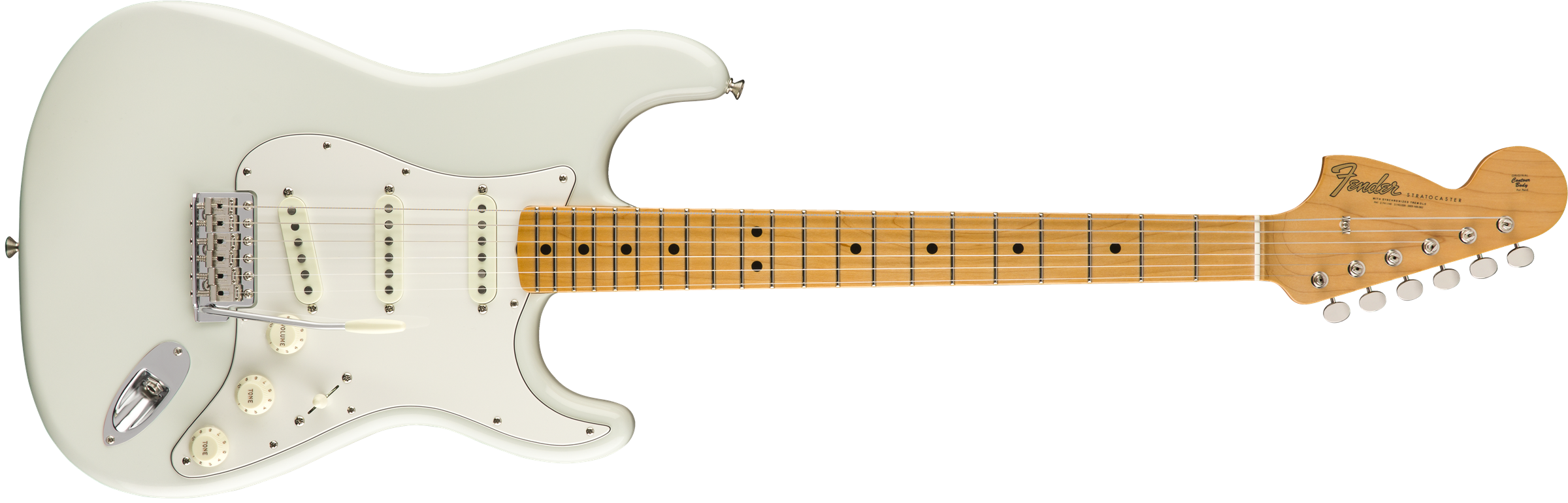 FENDER-Jimi-Hendrix-Voodoo-Child-Signature-Stratocaster-NOS-Maple-Fingerboard-Olympic-White-sku-571004344