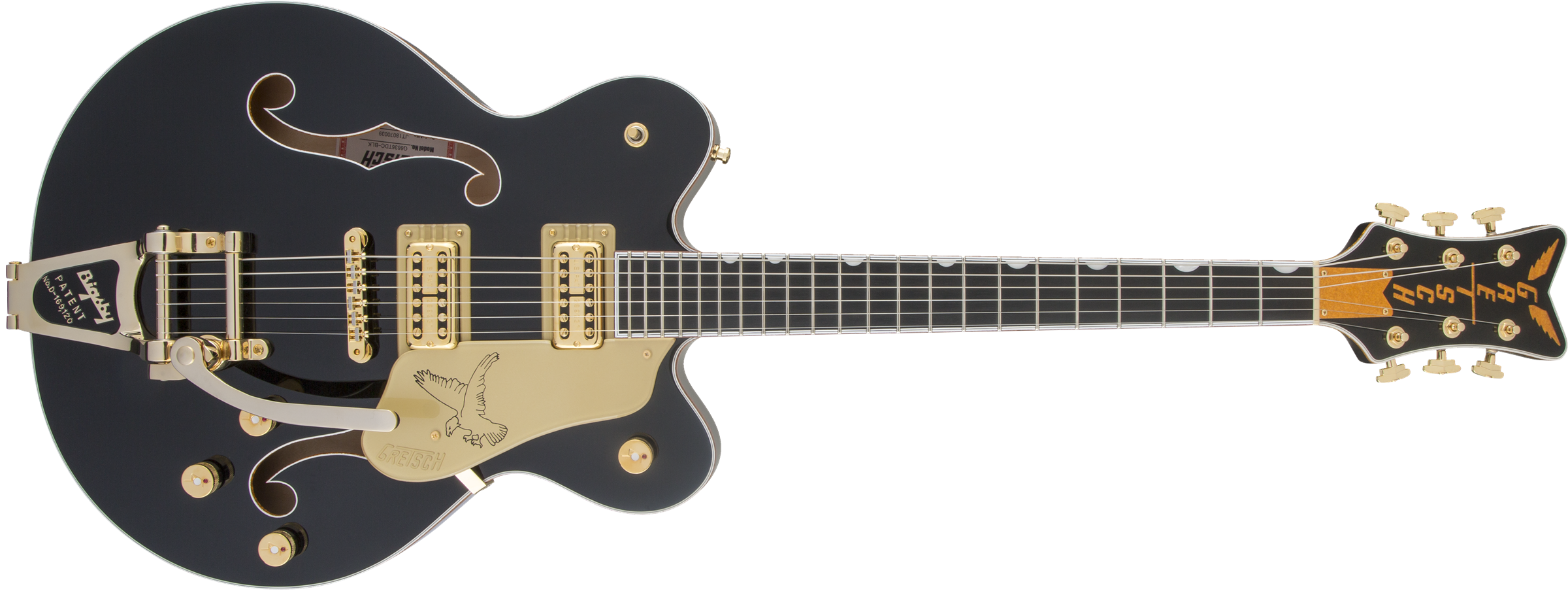 GRETSCH-G6636T-Players-Edition-Falcon-Center-Block-Double-Cut-with-String-Thru-Bigsby-FilterTron-Pickups-Black-sku-571002971