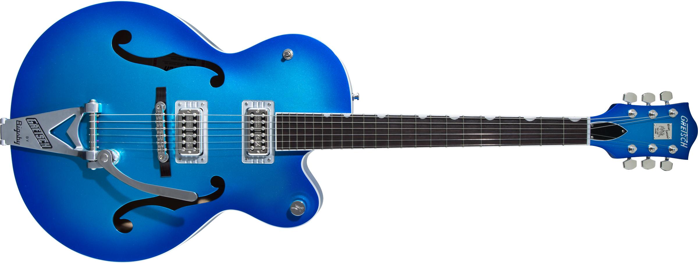 GRETSCH-G6120T-HR-Brian-Setzer-Signature-Hot-Rod-Hollow-Body-with-Bigsby-Rosewood-Fingerboard-Candy-Blue-Burst-sku-571004088
