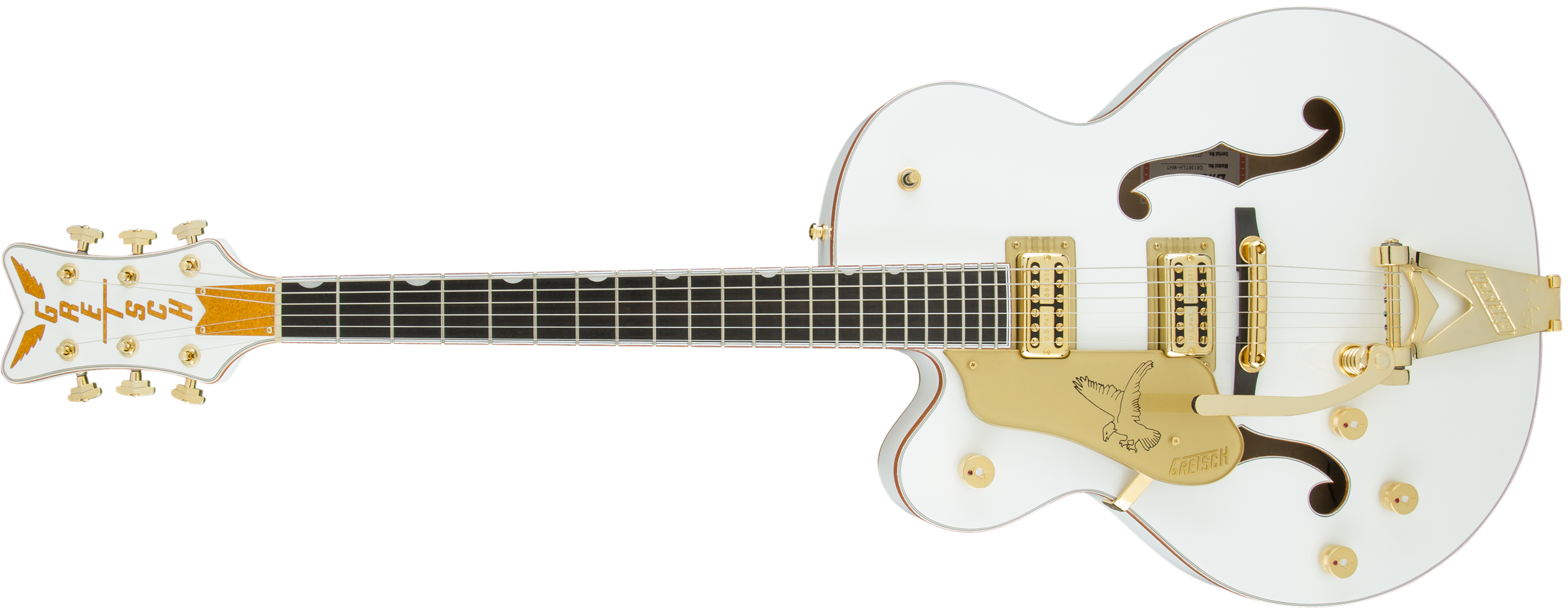 GRETSCH-G6136TLH-WHT-Players-Edition-Falcon-with-Bigsby-Left-Handed-FilterTron-Pickups-White-sku-571001297