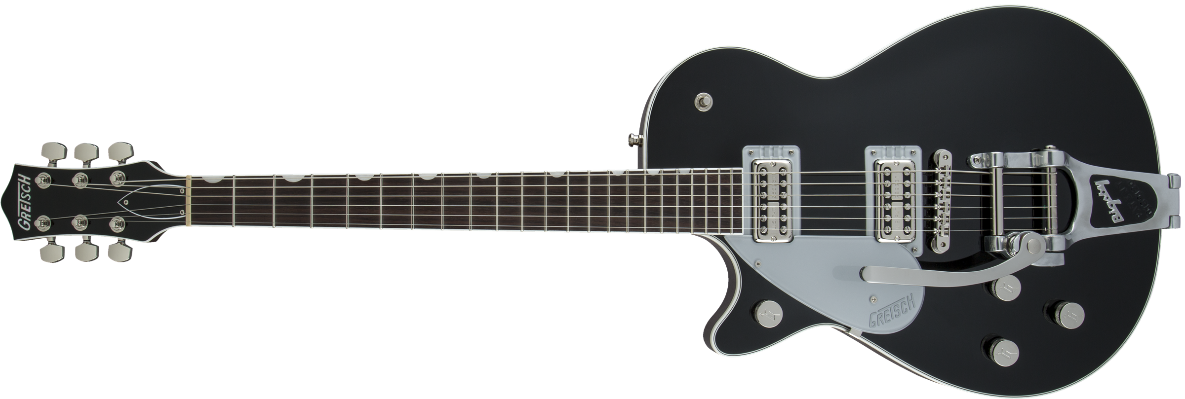 GRETSCH-G6128TLH-Players-Edition-Jet-FT-with-Bigsby-Left-Handed-Rosewood-Fingerboard-Black-sku-571001473