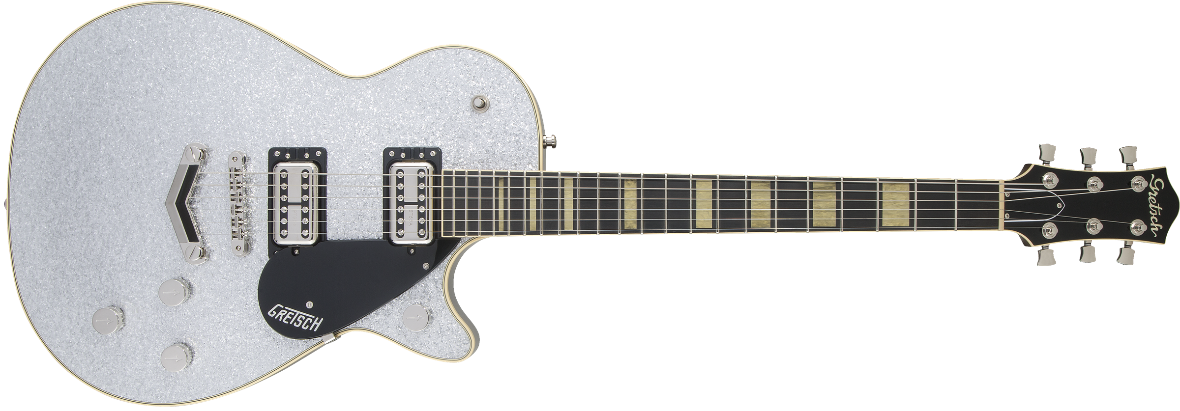 GRETSCH-G6229-Players-Edition-Jet-BT-with-V-Stoptail-Rosewood-Fingerboard-Silver-Sparkle-sku-571002878