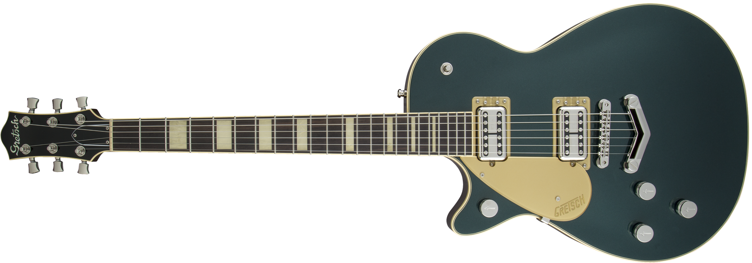GRETSCH-G6228LH-Players-Edition-Jet-BT-with-V-Stoptail-Left-Handed-Rosewood-Fingerboard-Cadillac-Green-sku-571001490