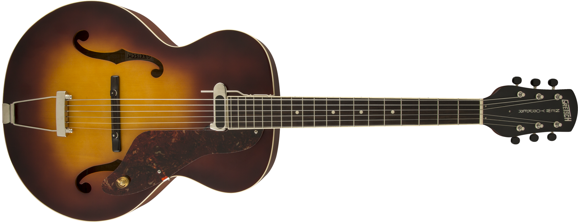 folk bluegrass g9555 new yorker archtop guitar with pickup semi gloss vintage sunburst. Black Bedroom Furniture Sets. Home Design Ideas