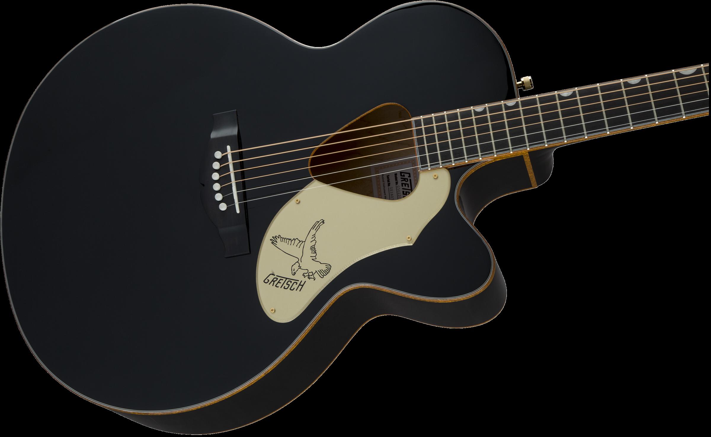 Acoustic Guitar :: G5022CBFE Rancher™ Falcon™ Jumbo Cutaway  Acoustic/Electric, Fishman® Pickup System, Black