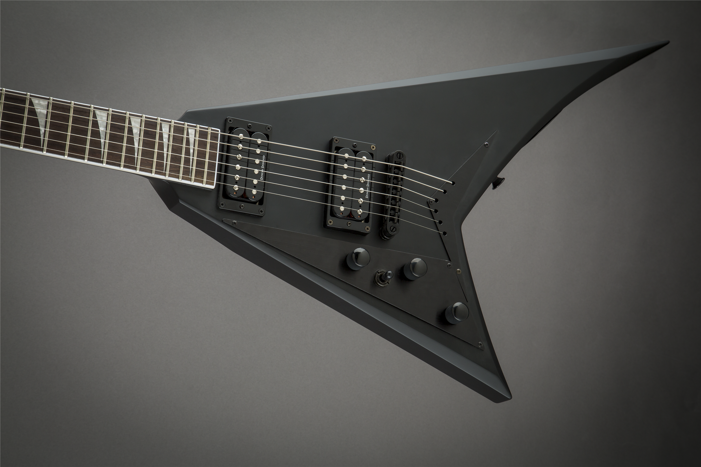 Rhoads X Series Rrxt Lh Rosewood Fingerboard Satin Black Jackson V Wiring Diagram For As Sleek An Airliner And Iconic The Artist Who Inspired Co Designedthe Oft Imitated But Never Surpassed Randy Rhoadsthe