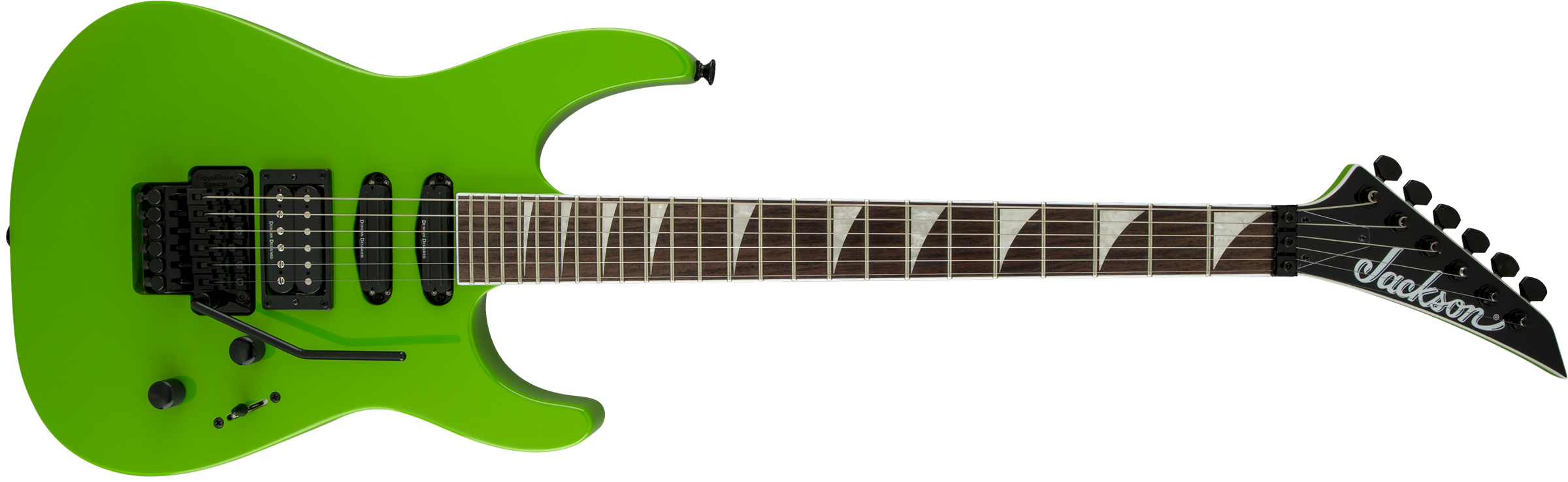 Soloist X Series Sl3x Rosewood Fingerboard Slime Green Wiring Guitar Pickups 101 The Jackson Name Has Always Been Synonymous With State Of Art Technology And Playing Leading Way In Crafting Instruments That Exceed