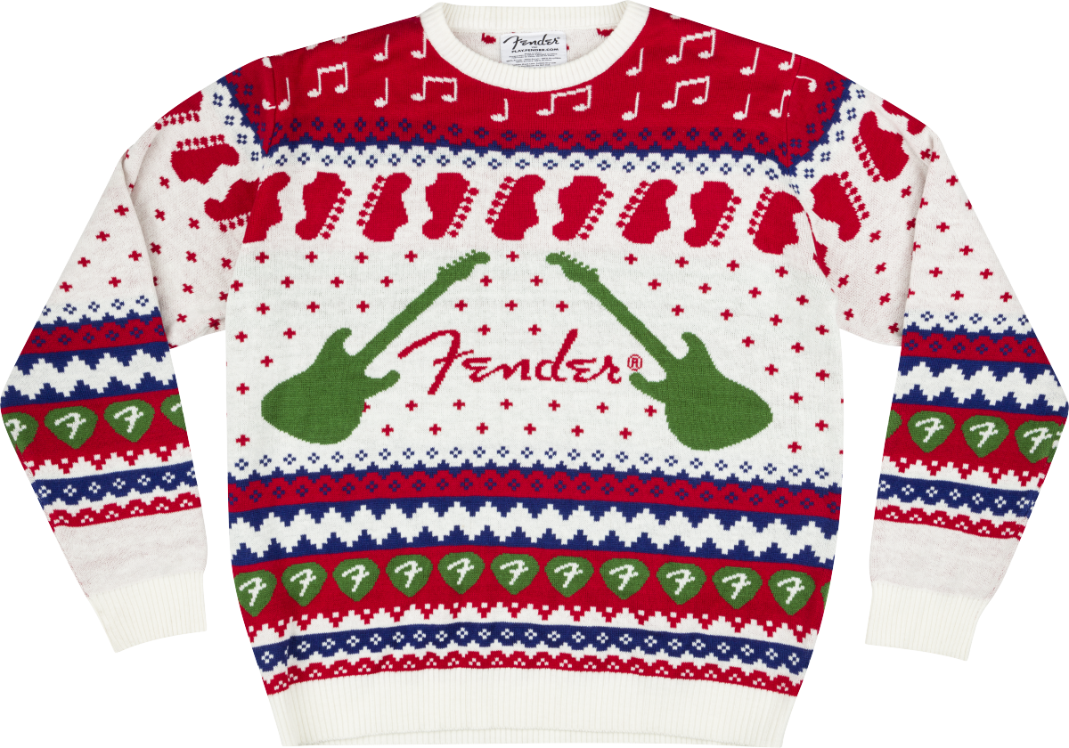 FENDER-Fender-Holiday-Sweater-2021-Multi-Color-Small-9190202306-sku-550023169