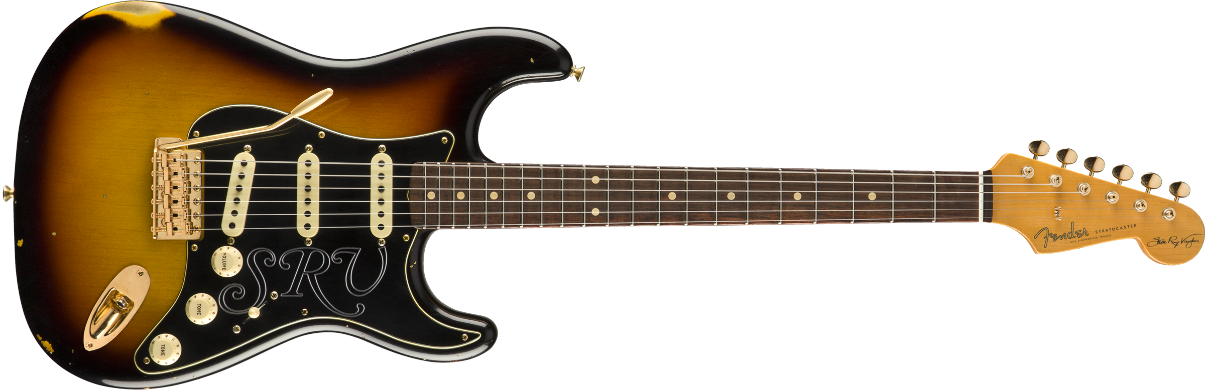 FENDER-Stevie-Ray-Vaughan-Signature-Stratocaster-Relic-Rosewood-Fingerboard-Faded-3-Color-Sunburst-sku-571004334