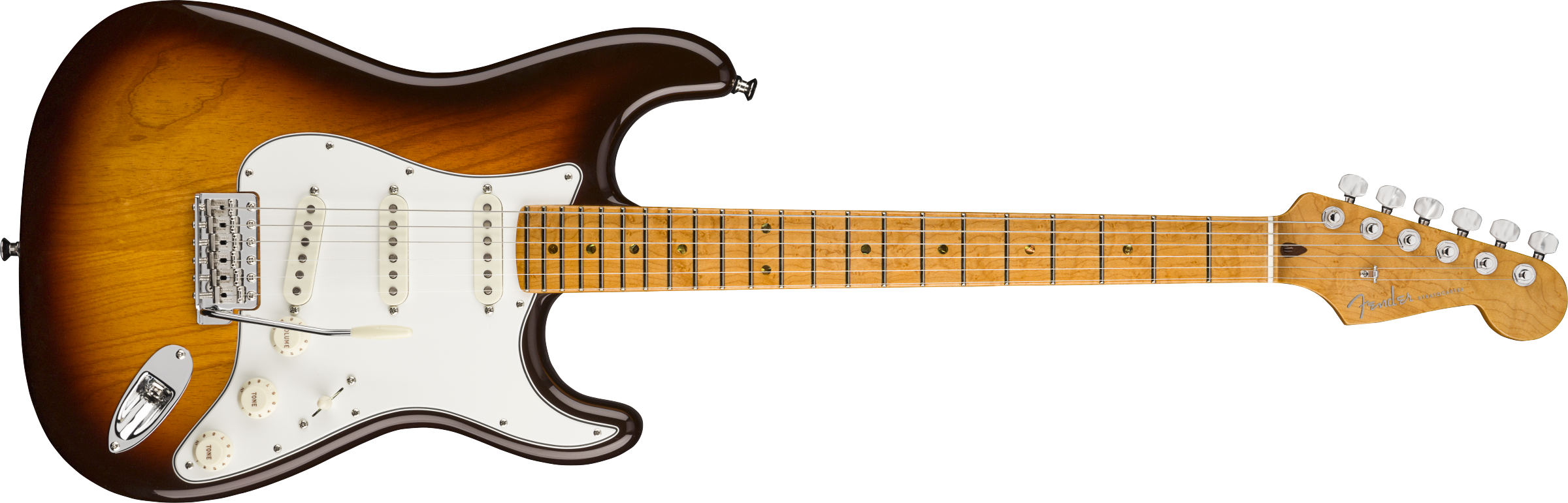 FENDER-American-Custom-Stratocaster-Maple-Fingerboard-Antique-Burst-NOS-sku-571005113