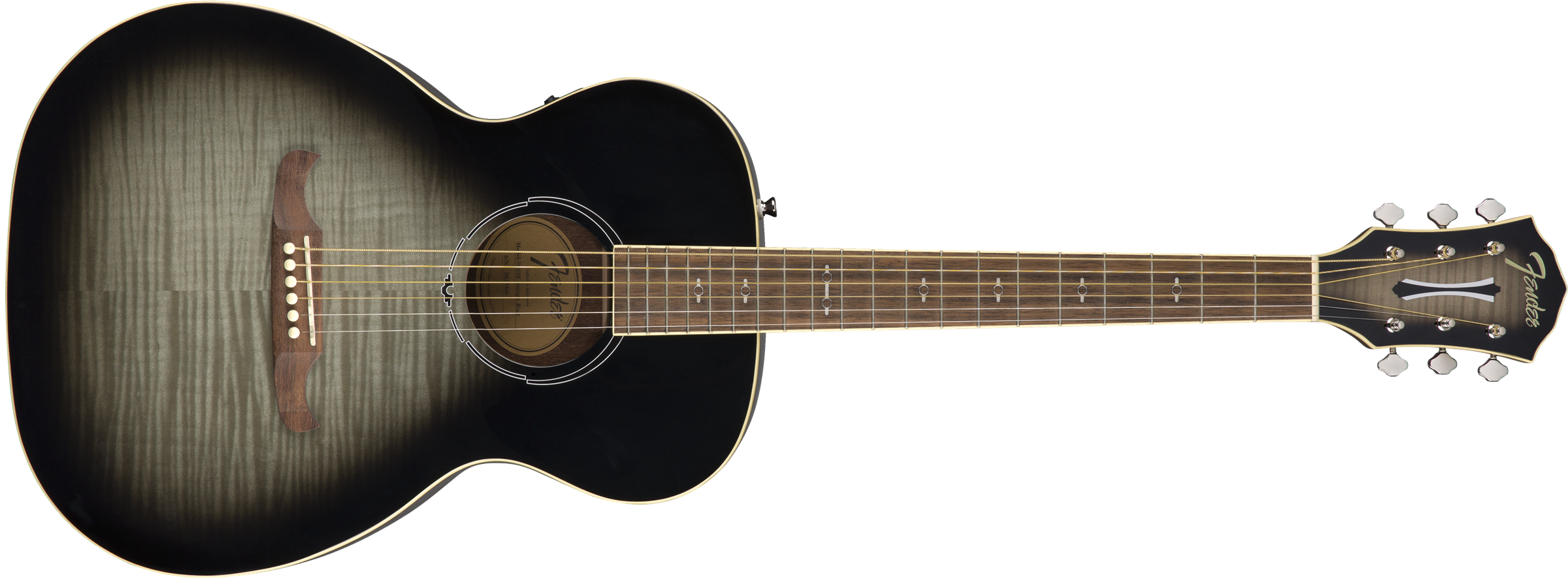 This is an image of the Fender FA-235E Concert, Rosewood Fingerboard, Moonlight Burst