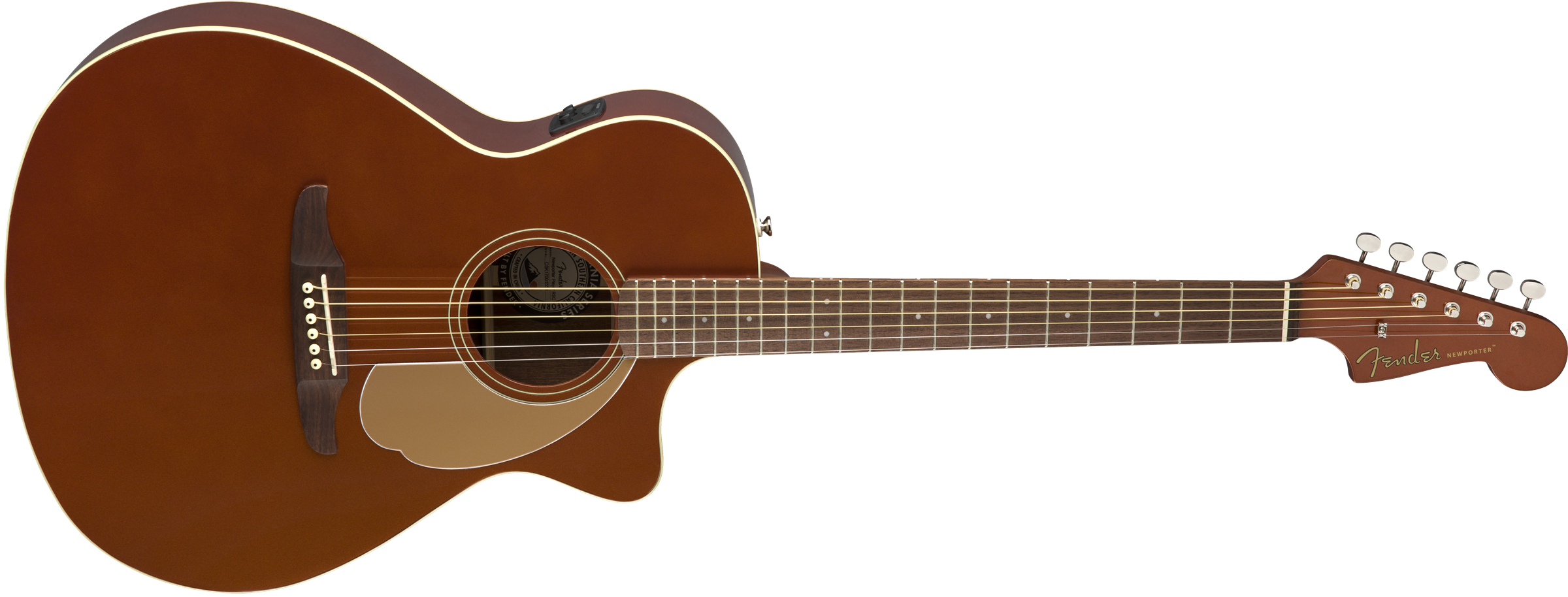 Image of the Fender Newporter Player, Walnut Fingerboard, Rustic Copper