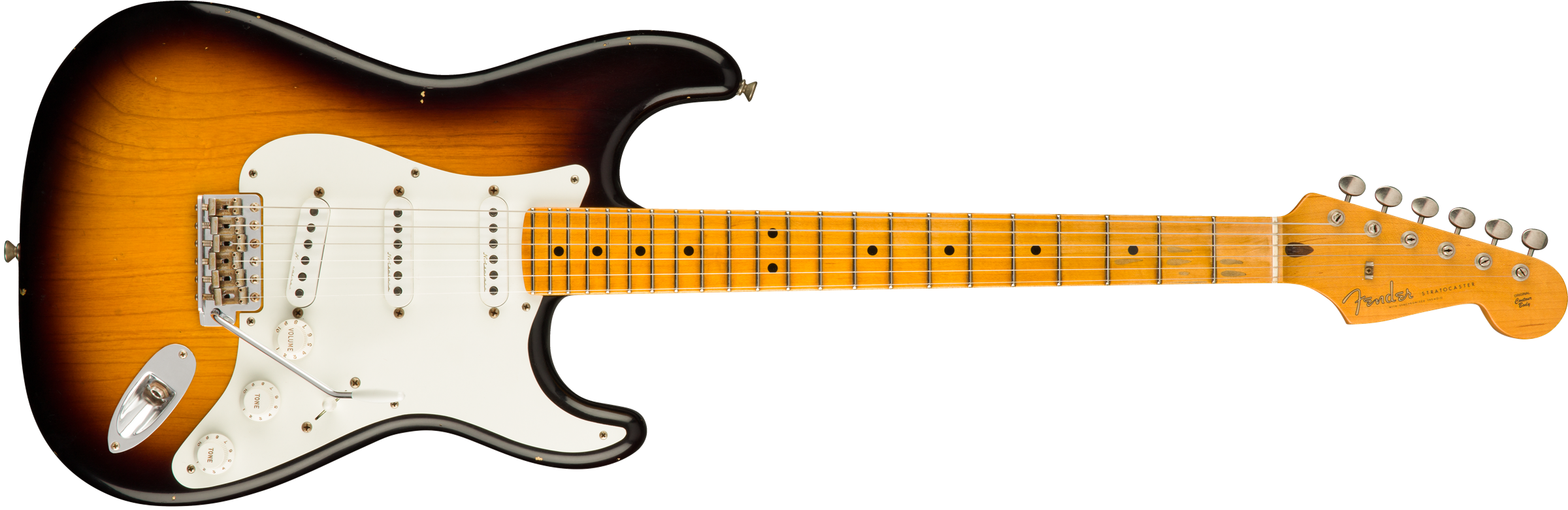 FENDER-Eric-Clapton-Signature-Stratocaster-Journeyman-Relic-Maple-Fingerboard-2-Color-Sunburst-sku-550011468