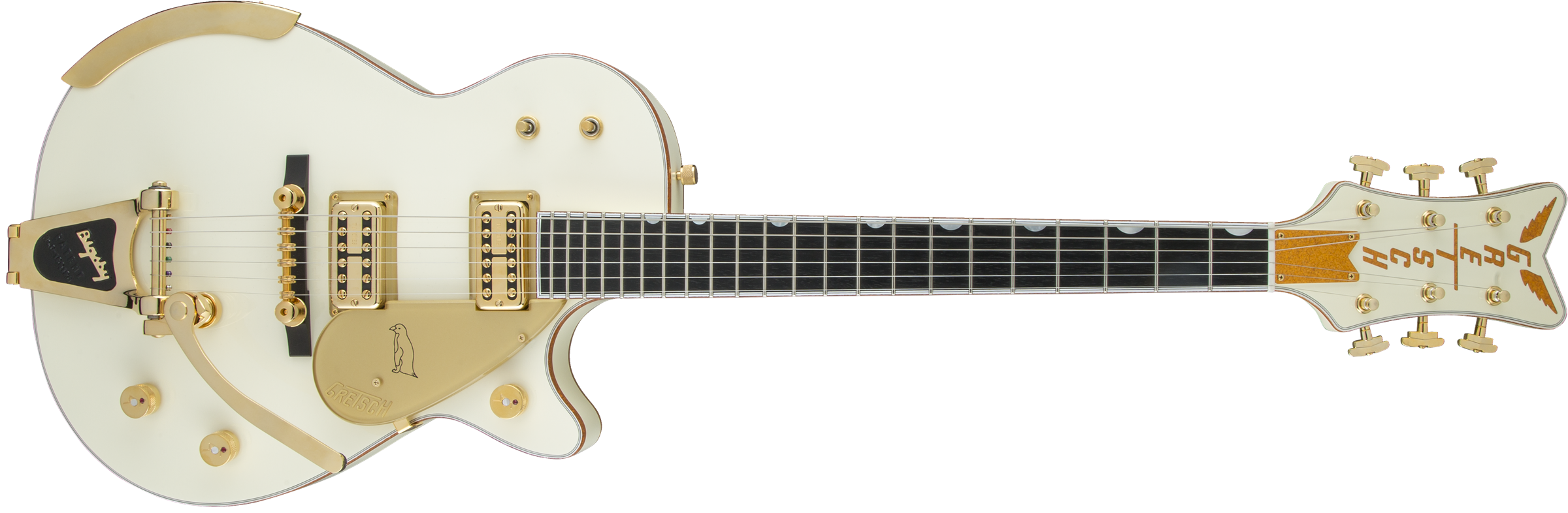 GRETSCH-G6134T-58-Vintage-Select-58-Penguin-with-Bigsby-TV-Jones-Vintage-White-sku-571001003