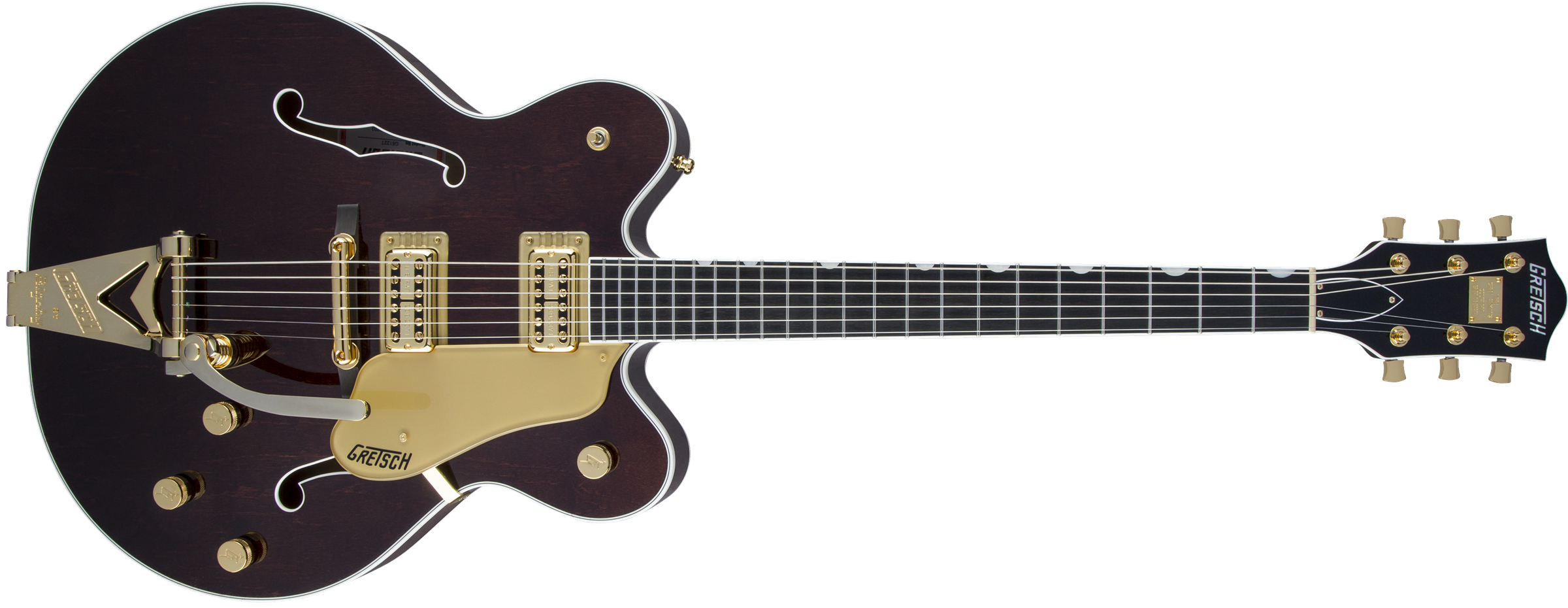 GRETSCH-G6122T-Players-Edition-Country-Gentleman-with-String-Thru-Bigsby-FilterTron-Pickups-Walnut-Stain-sku-571001001