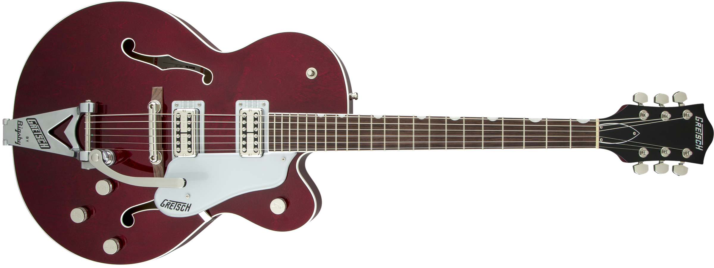 GRETSCH-G6119T-Players-Edition-Tennessee-Rose-with-String-Thru-Bigsby-FilterTron-Pickups-Dark-Cherry-Stain-sku-571001000