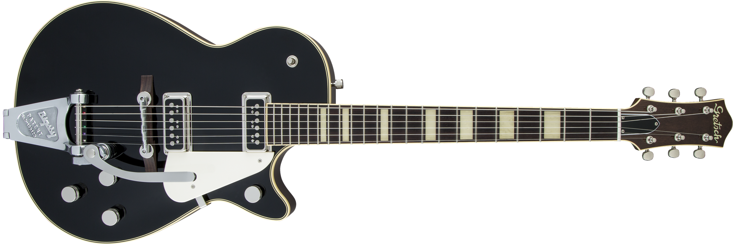 GRETSCH-G6128T-53-Vintage-Select-53-Duo-Jet-with-Bigsby-TV-Jones-Black-sku-571001215
