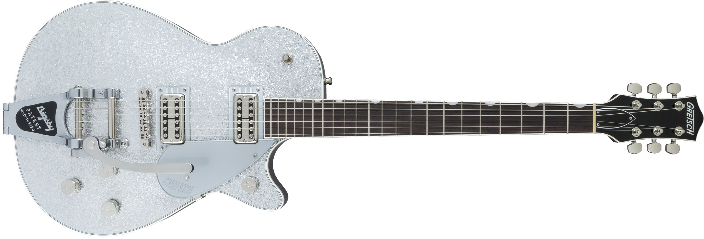 GRETSCH-G6129T-Players-Edition-Jet-FT-with-Bigsby-Rosewood-Fingerboard-Silver-Sparkle-sku-571001441