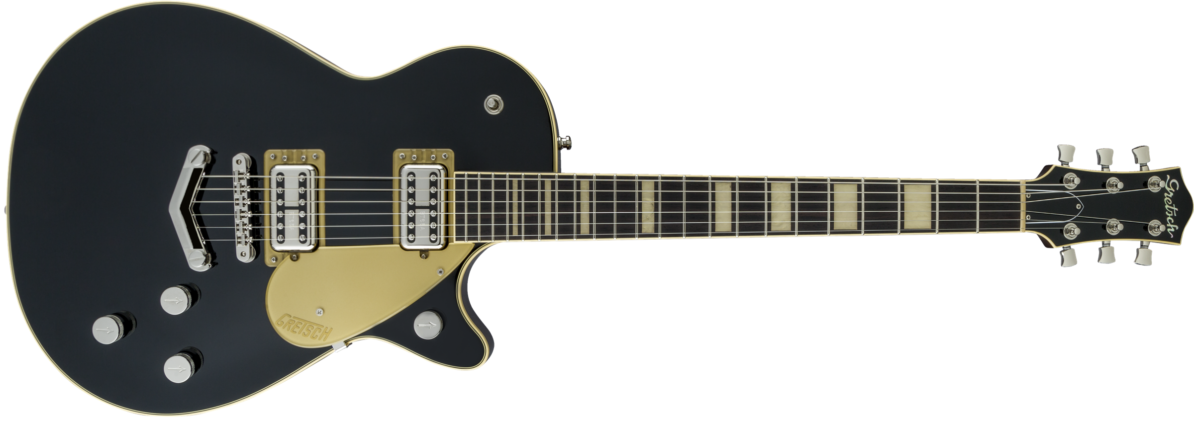 GRETSCH-G6228-Players-Edition-Jet-BT-with-V-Stoptail-Rosewood-Fingerboard-Black-sku-571001244