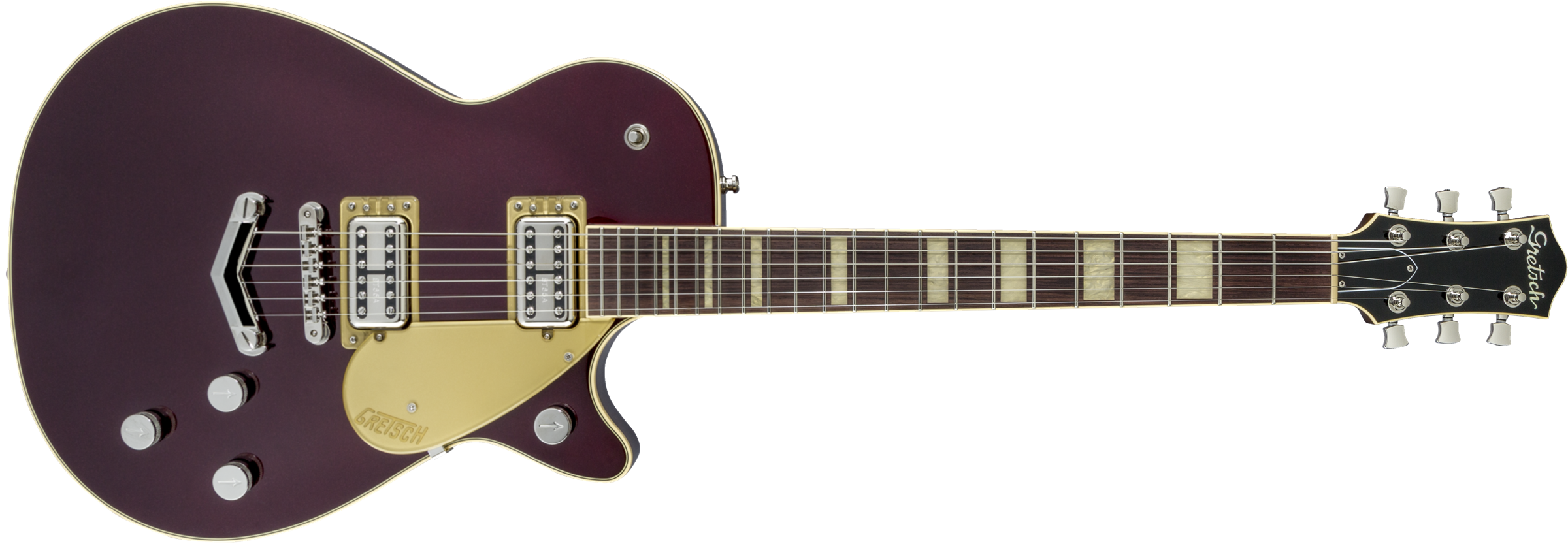 GRETSCH-G6228-Players-Edition-Jet-BT-with-V-Stoptail-Rosewood-Fingerboard-Dark-Cherry-Metallic-sku-571001243