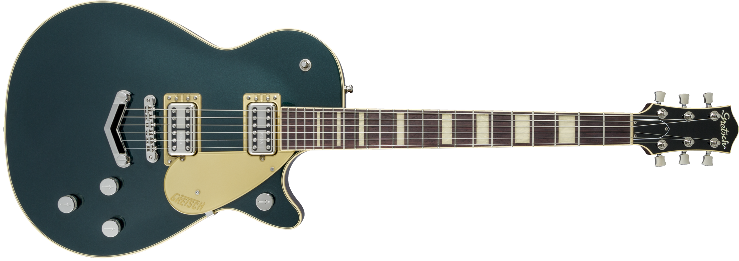 GRETSCH-G6228-Players-Edition-Jet-BT-with-V-Stoptail-Rosewood-Fingerboard-Cadillac-Green-sku-571001614