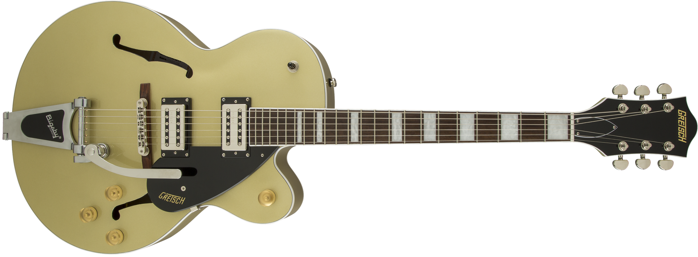 This is an image of the Gretsch G2420T Streamliner™ Hollow Body with Bigsby®, Broad'Tron™
