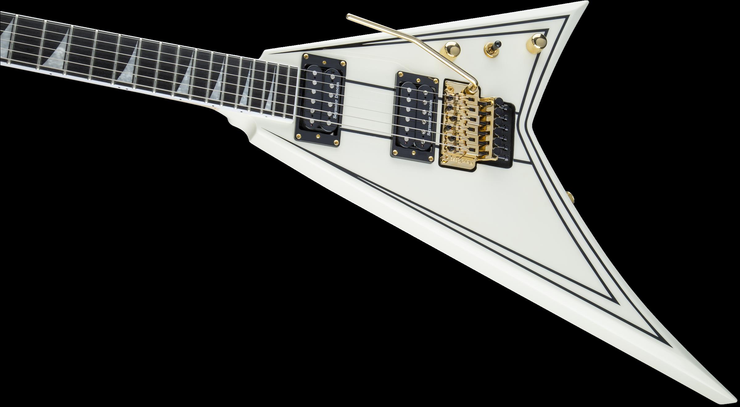 Rhoads :: Pro Series Rhoads RR3, Ebony Fingerboard, Ivory with Black ...