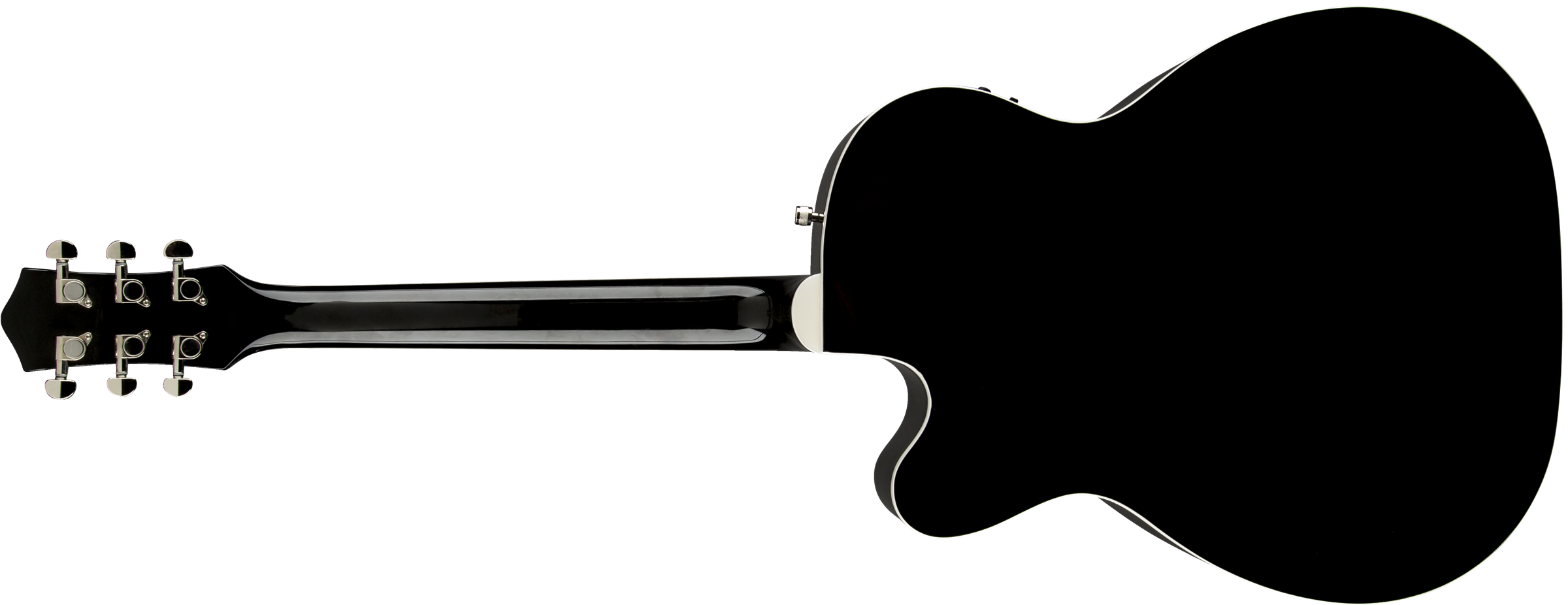 Acoustic Guitar G5013ce Rancher Jr Cutaway Electric Pickup On An Bass Or Fishman System Black