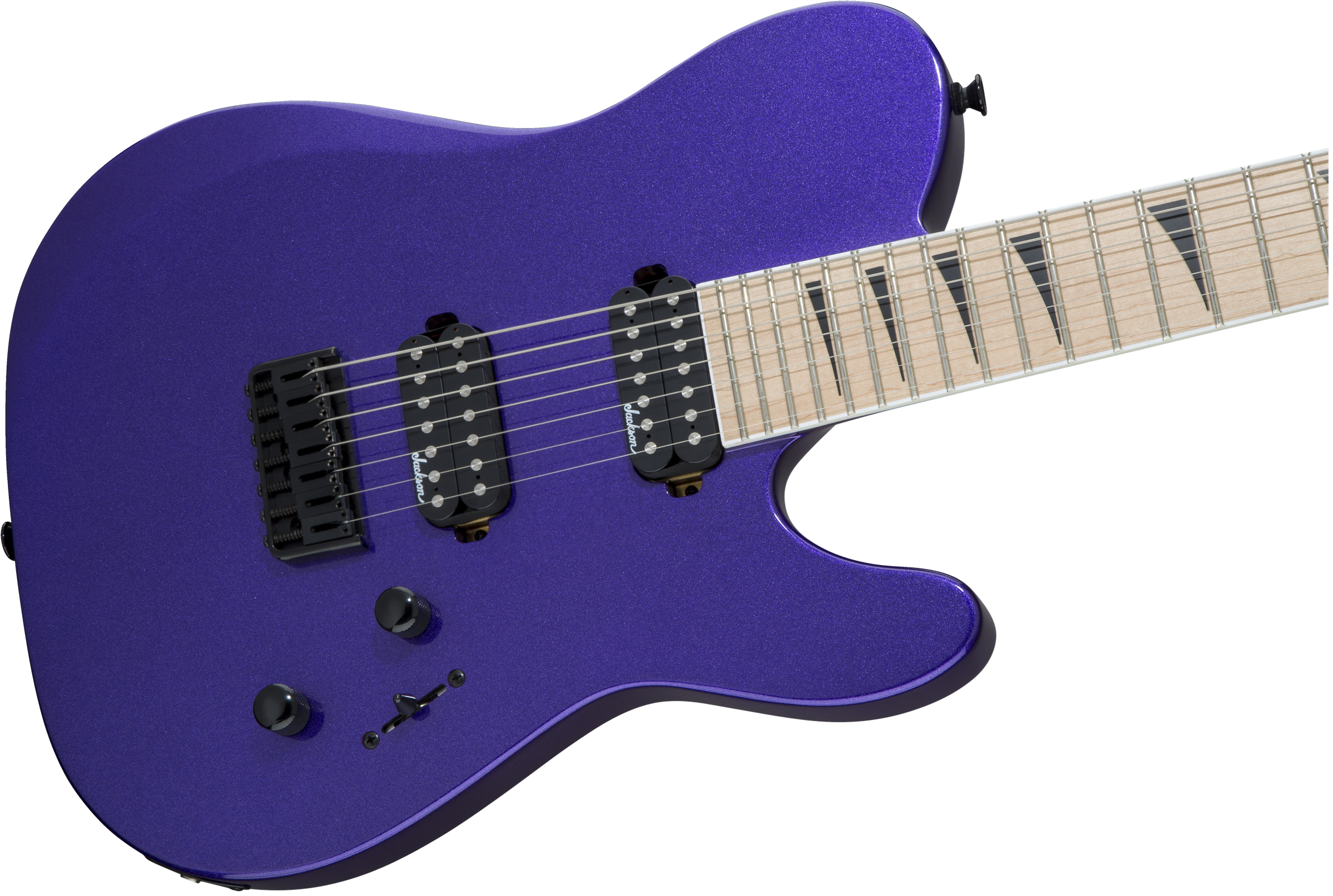 Guitars :: X Series TY2-7 HT Telly, Maple Fingerboard, Pavo Purple