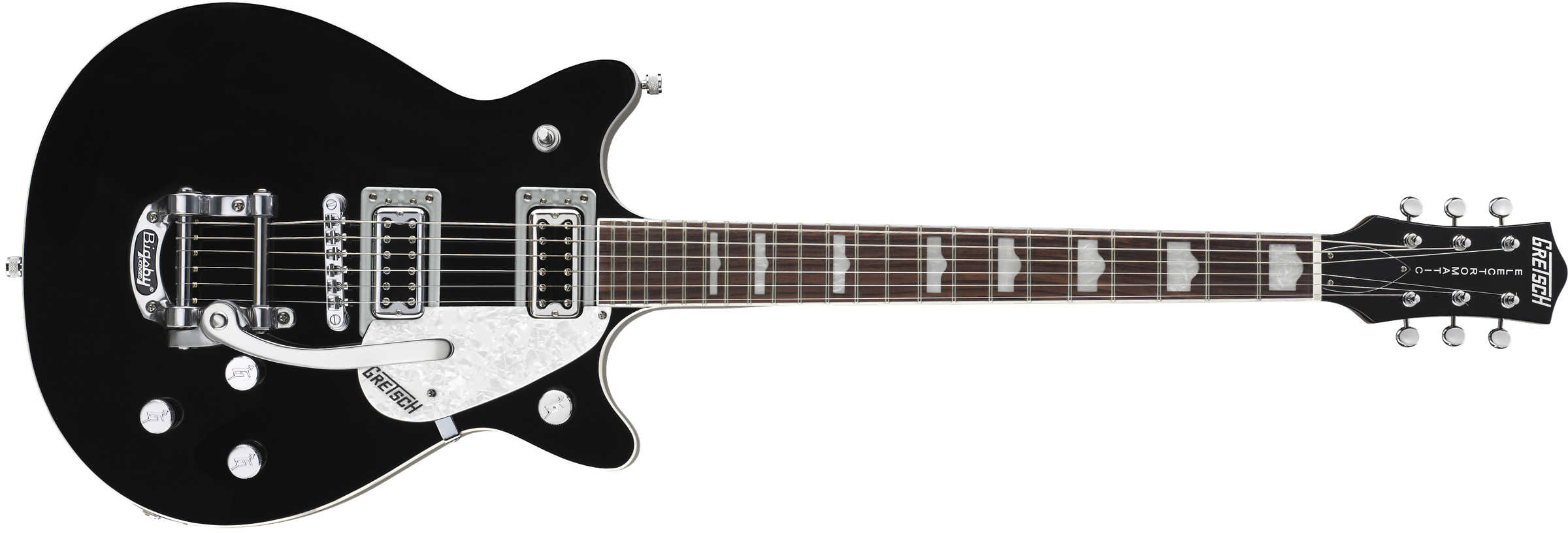 Solid Body :: G5445T Double Jet™ with Bigsby®, Rosewood Fingerboard, Black