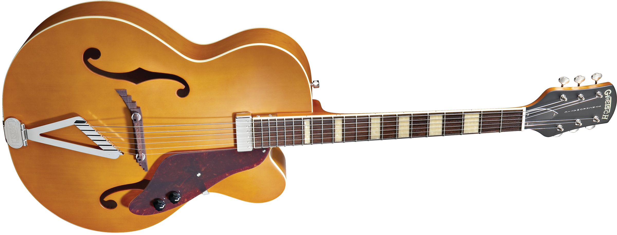 Acoustic Guitar :: G100CE Synchromatic™ Archtop Cutaway Electric, Rosewood  Fingerboard, Flat Natural