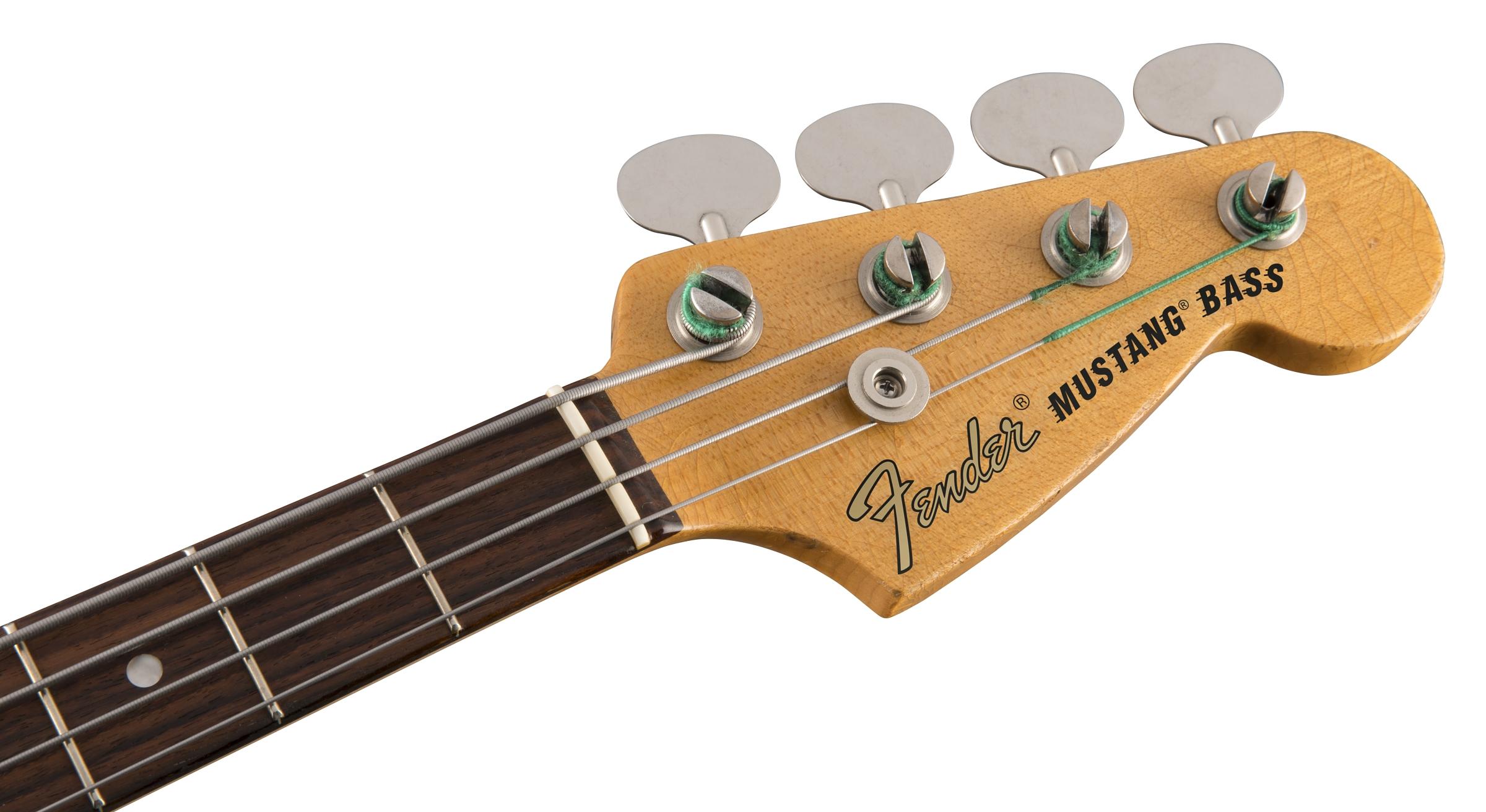 Replacement pickguard for Fender Justin Meldal-Johnsen Road Worn Mustang Bass