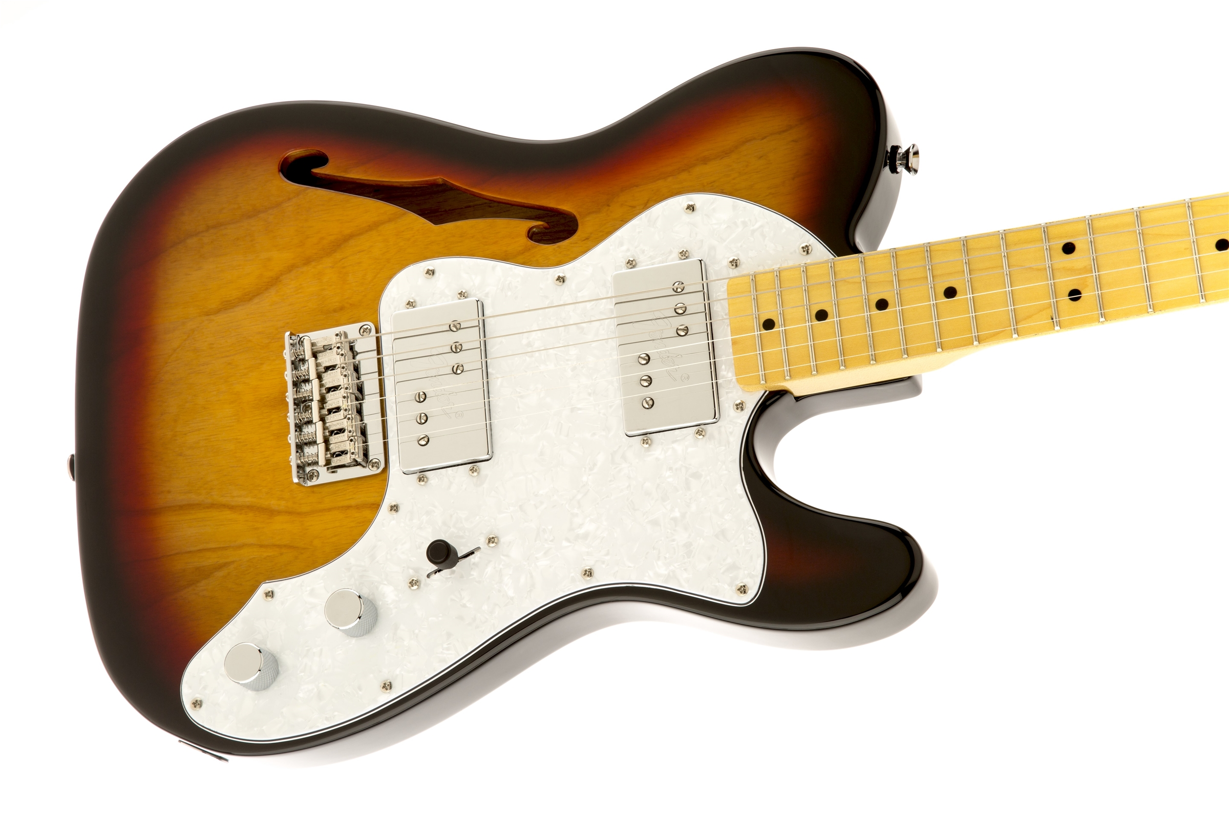 Vintage Modified 72 Telecaster 174 Thinline Squier