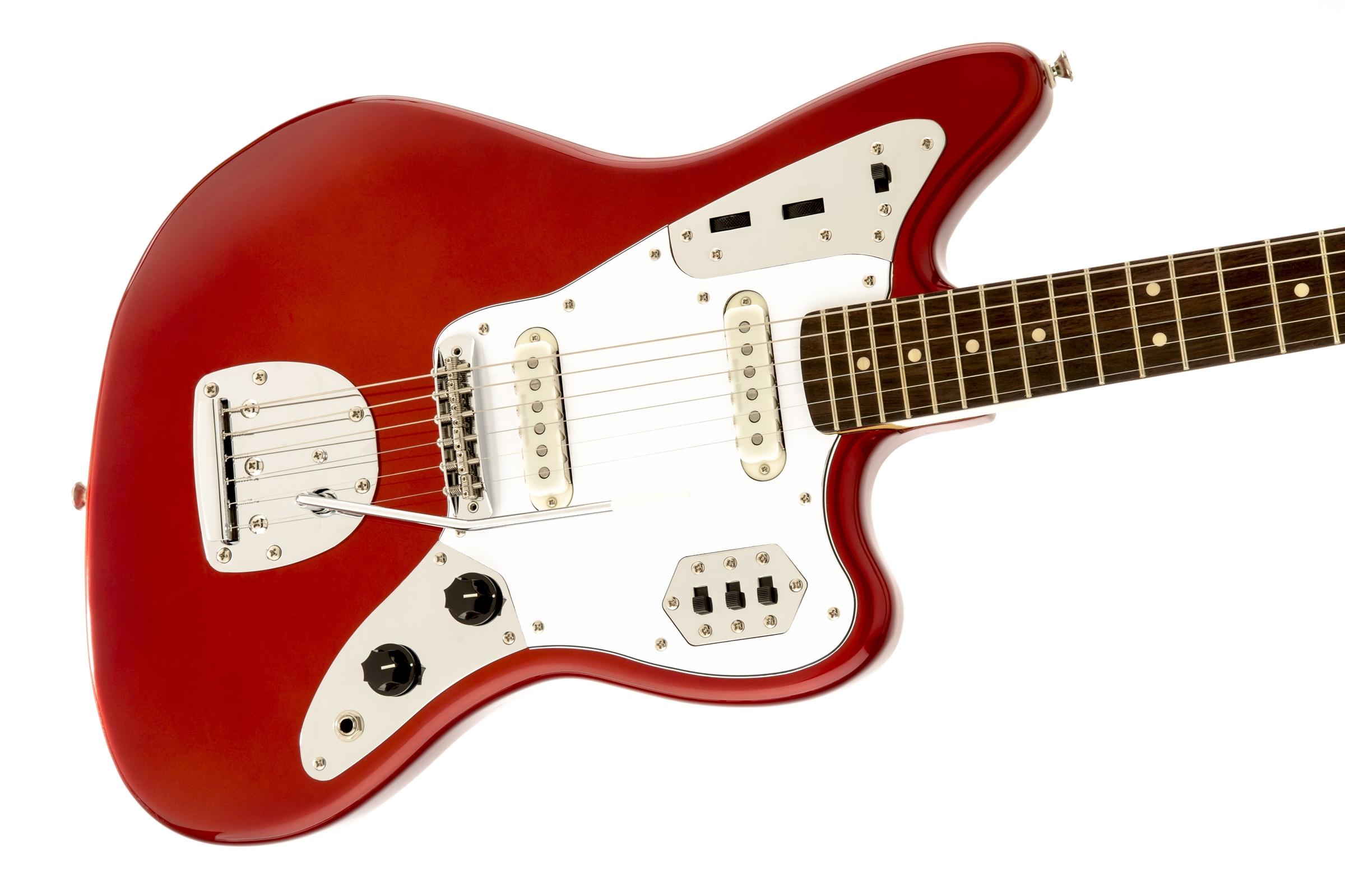 squier vintage modified jaguar rosewood fingerboard candy apple red squier electric guitars. Black Bedroom Furniture Sets. Home Design Ideas