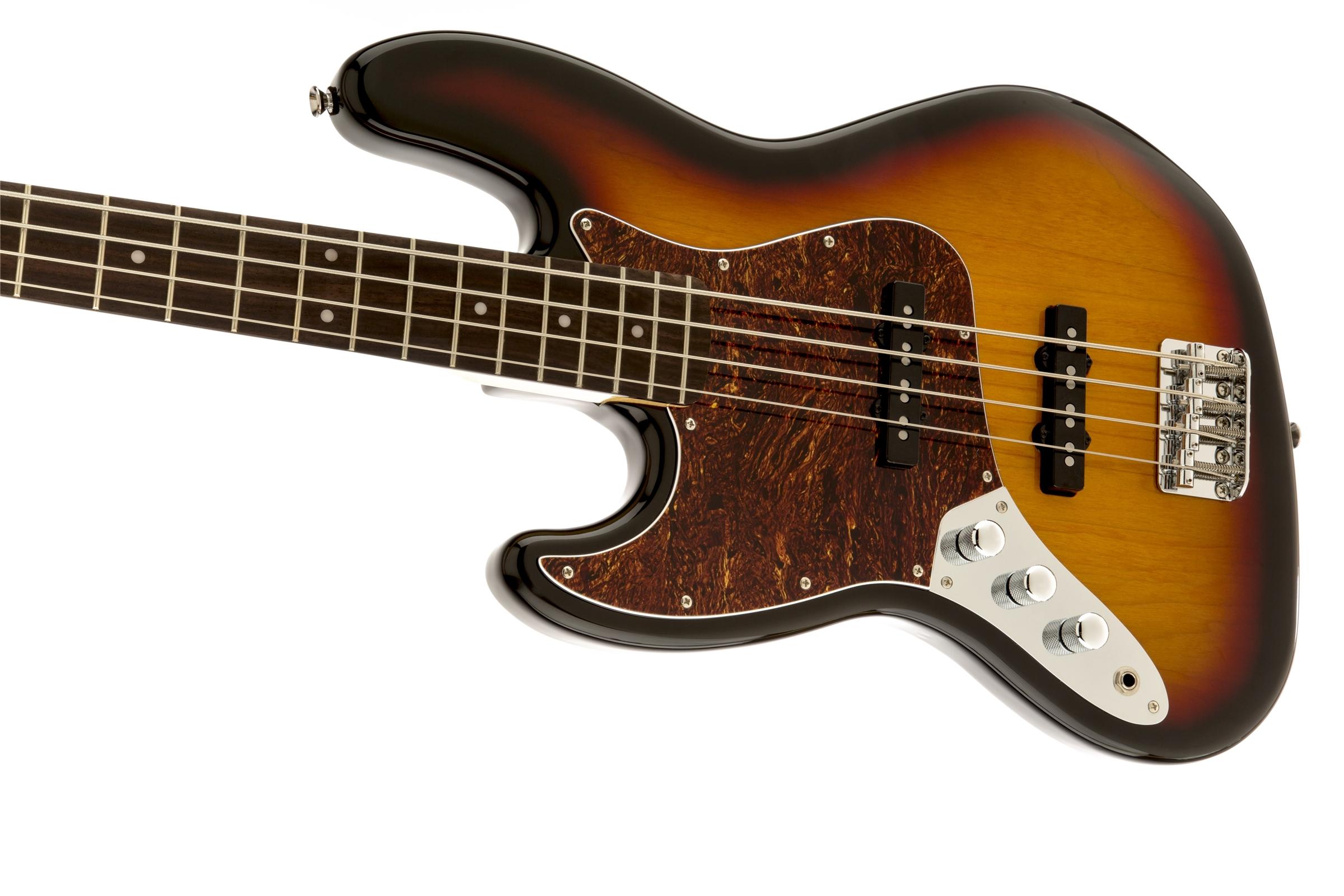 vintage modified jazz bass left handed squier electric basses. Black Bedroom Furniture Sets. Home Design Ideas