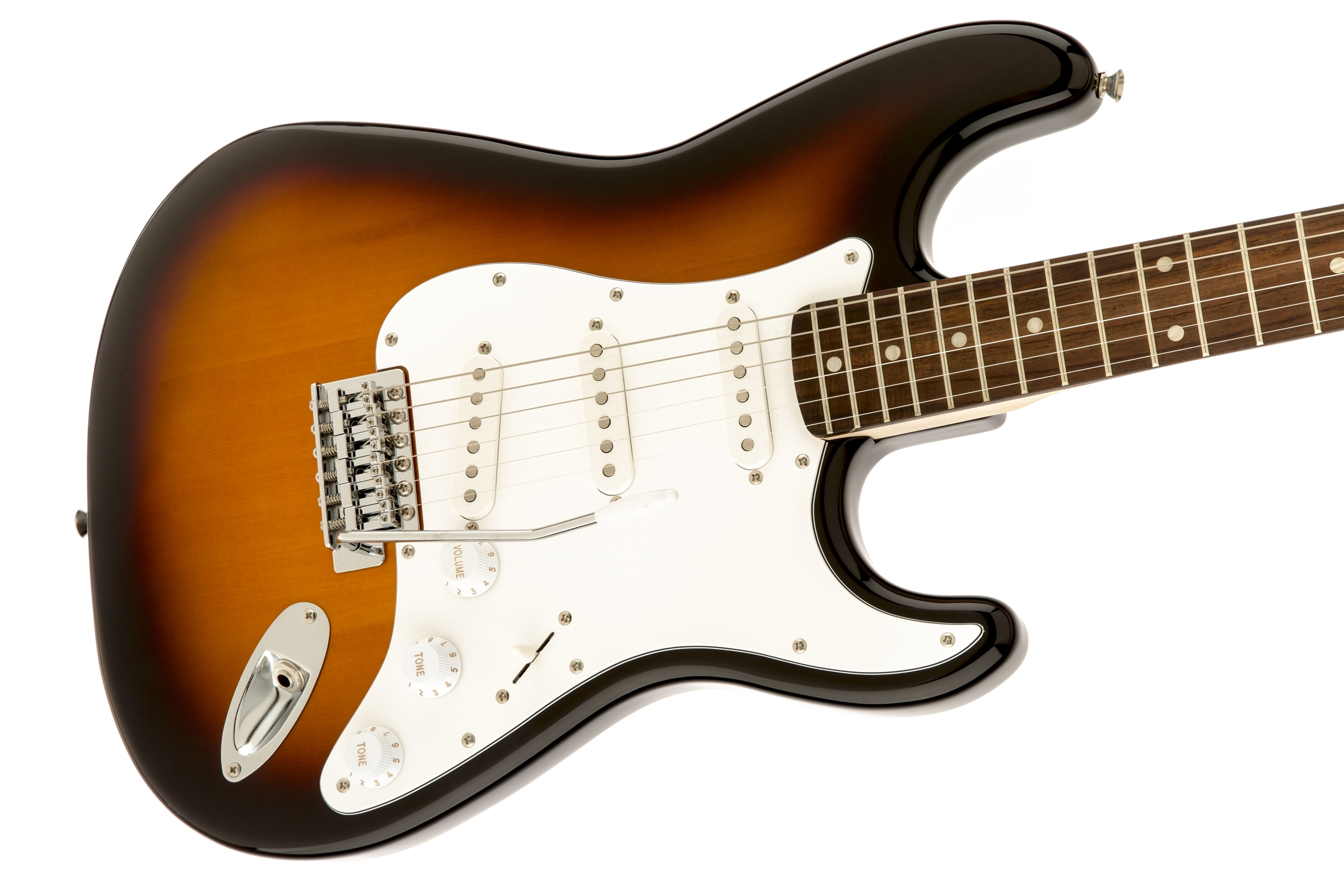squier affinity series stratocaster rosewood fingerboard brown sunburst squier electric. Black Bedroom Furniture Sets. Home Design Ideas
