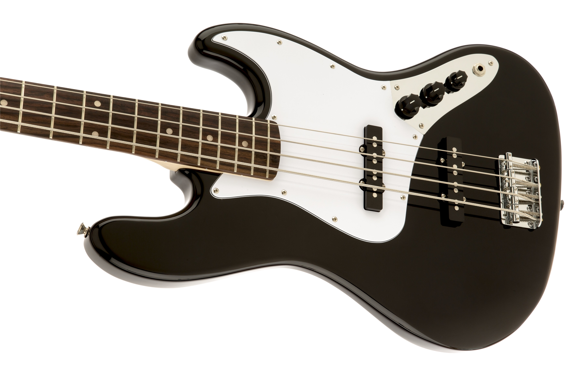 Squier® Affinity Jazz Bass®, Rosewood Fingerboard, Black | Squier ...