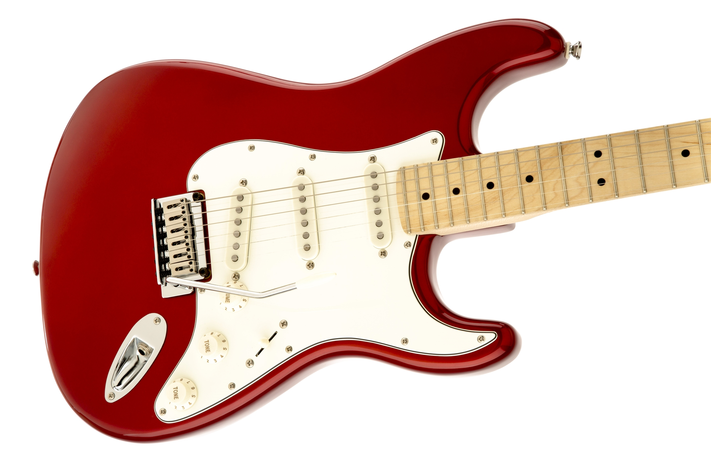 Squier 174 Standard Stratocaster 174 Maple Fingerboard Candy