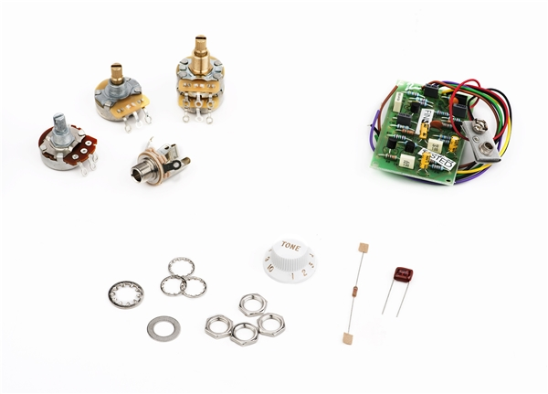 Stratocaster® Mid Boost Kit on